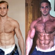 Anabolic steroids before and after